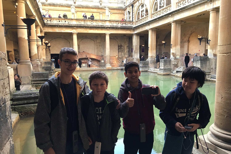 Excursion to Roman Baths in Bath
