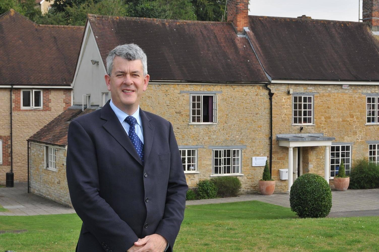 Tim Waters, Principal of Sherborne International School