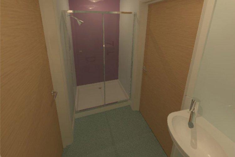 Kings Boarding House - new Jack and Jill bathroom