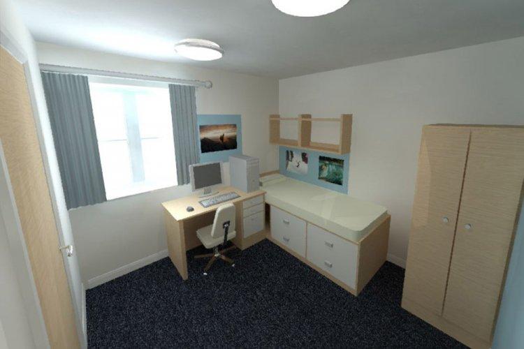 Kings Boarding House - new single bedroom