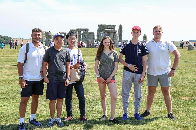 UK summer school - Stone Henge