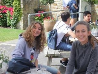 UK summer school - break time