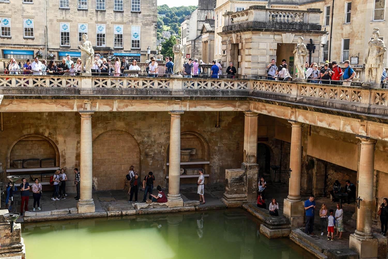 UK summer school - excursion to Bath