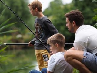 UK summer school - fishing