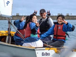 UK summer school - sailing