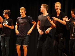 UK summer school - talent show