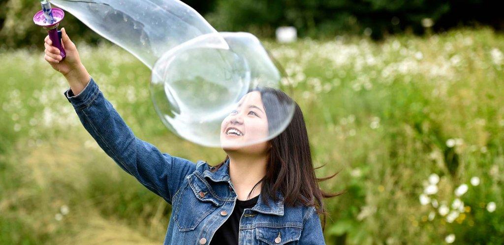 Curriculum Enrichment Week 2018 - Bubbles