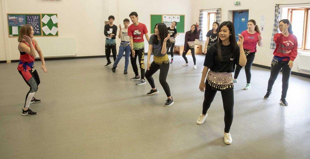 Curriculum Enrichment Week 2018 - Dance Workshop