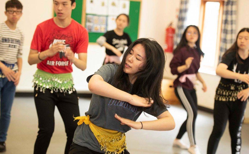Curriculum Enrichment Week 2018 - Dance Workshop Routine