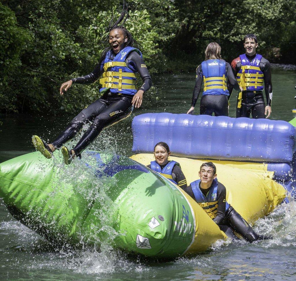 Curriculum Enrichment Week 2018 - Dorset Water Park 1