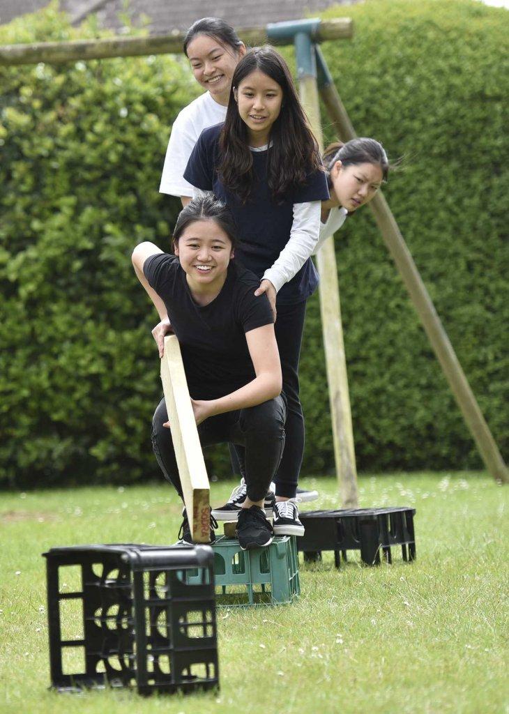 Curriculum Enrichment Week 2018 - Team Building Girls
