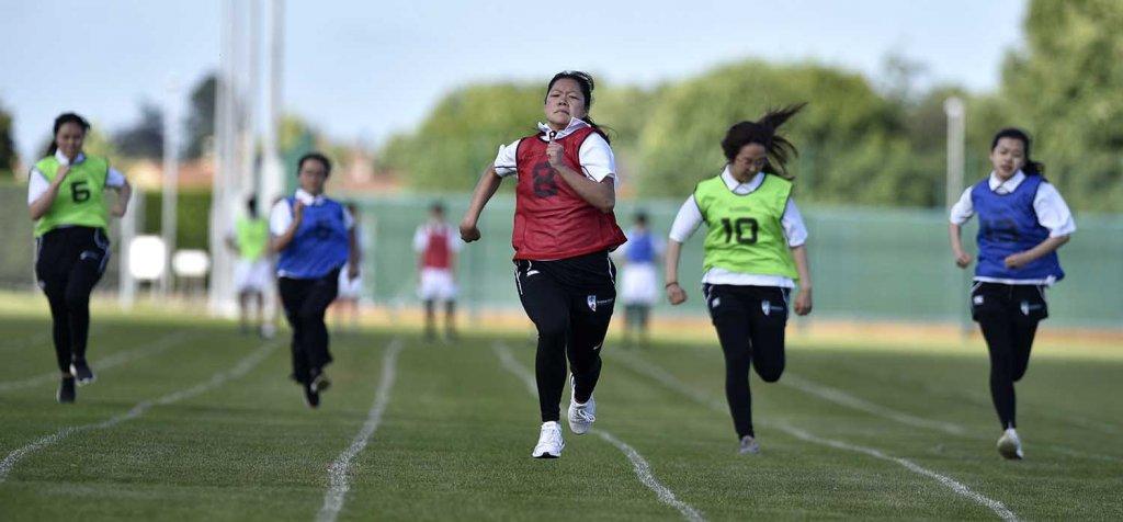 Sports Day 2018 - Girls Running