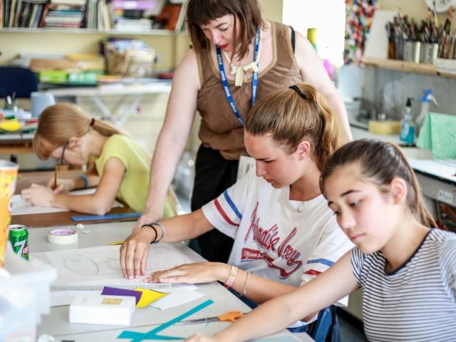 Summer school photos - art lesson 2