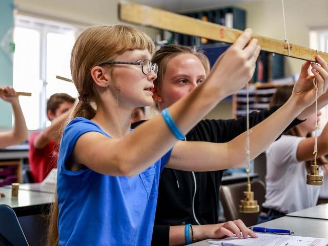 Summer school photos - physics lesson 7