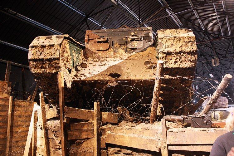 Sherborne International visit to Bovington Tank Museum