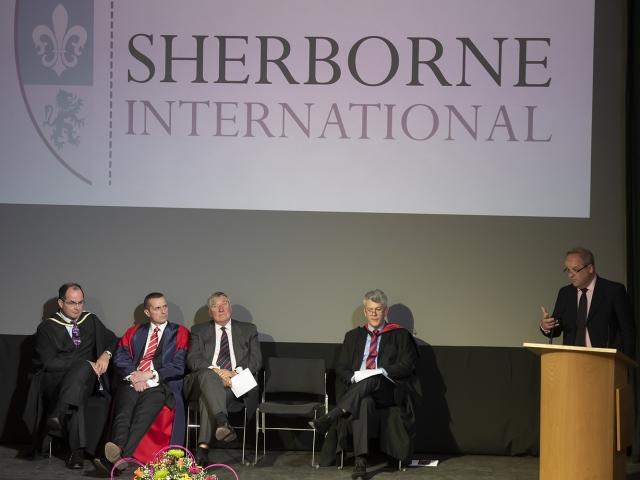Sherborne International Speech Day 2019