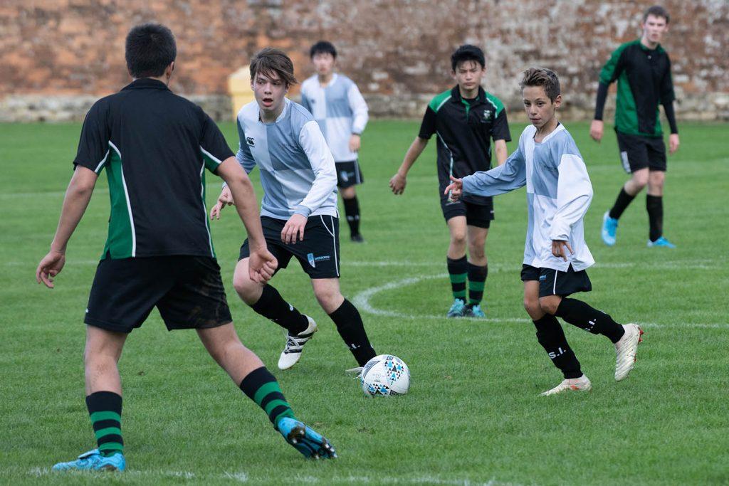Sherborne International play Park School at Football away on 15 October 2019