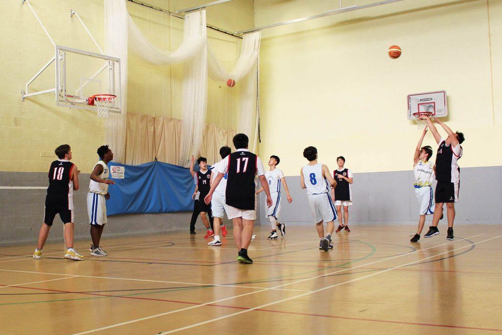 Sherborne International vs Sherborne School Basketball February 2020